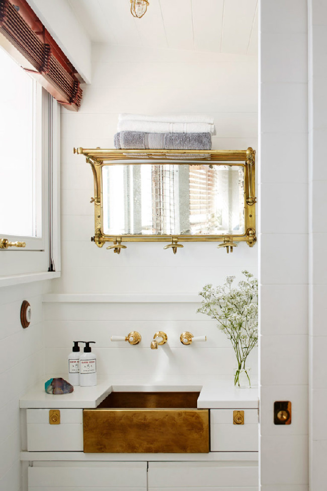 10 ispirazioni marinare per il bagno