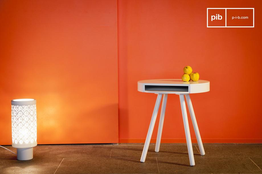 Arredare il salotto con i mobili in stile vintage scandinavo tavolino basso