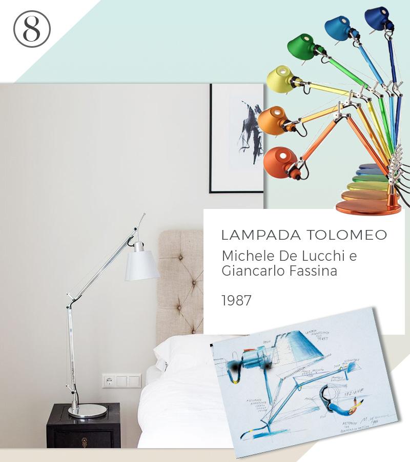 Le 10 icone del design che non passeranno mai di moda lampada tolomeo