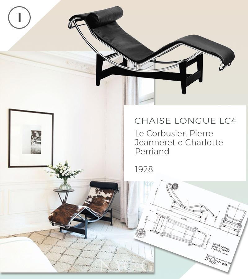 Le 10 icone del design che non passeranno mai di moda chaise longue le corbusier