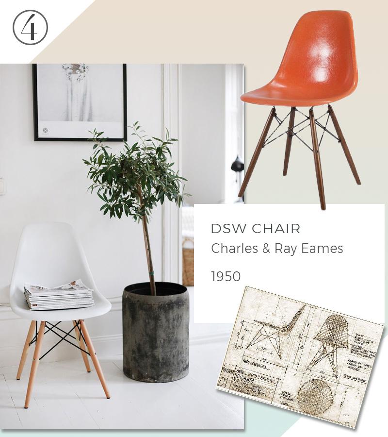 Le 10 icone del design che non passeranno mai di moda sedie eames