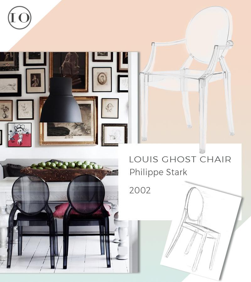 Le 10 icone del design che non passeranno mai di moda sedia louis ghost philippe stark