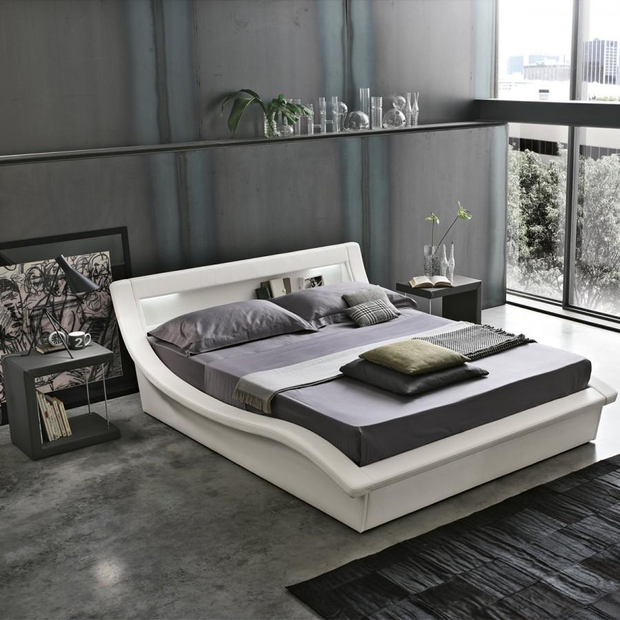 Camera da letto piccola tanto stile in poco spazio la - Letto stile moderno ...