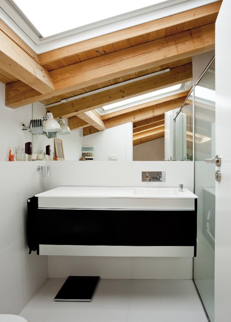 Arredare piccoli spazi vivere e lavorare in 40 mq bagno