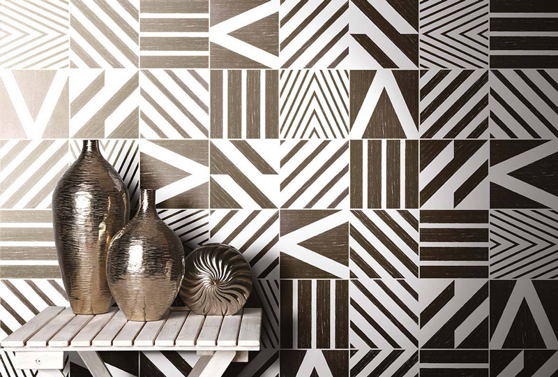 Cersaie le tendenze 2018 per i rivestimenti in ceramica piastrelle patchwork 14oraitaliana