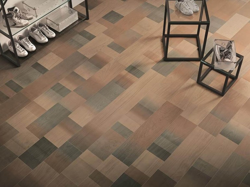 Cersaie le tendenze 2018 per i rivestimenti in ceramica effetto legno Ceramiche Caesar