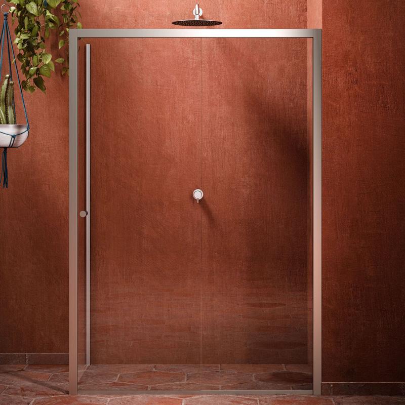 Cersaie le tendenze 2018 per sanitari e arredo bagno box doccia cristallo chiusura scorrevole blublue