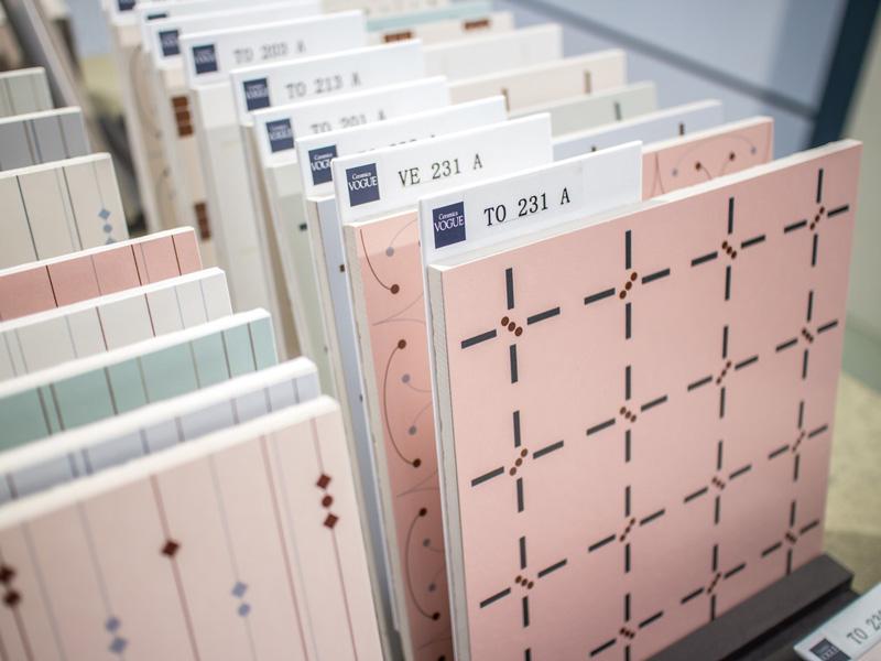 Cersaie le tendenze 2018 per i rivestimenti in ceramica Ceramica Vogue