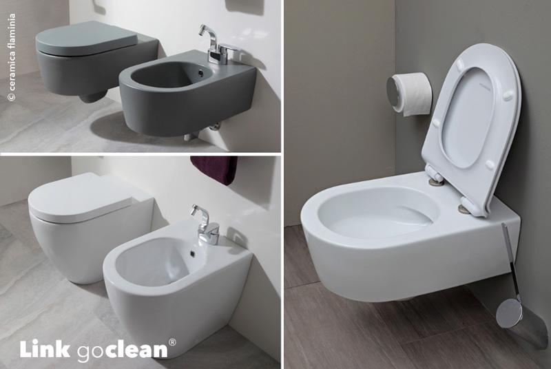 Cersaie le tendenze 2018 per sanitari e arredo bagno wc senza brida ceramiche flaminia