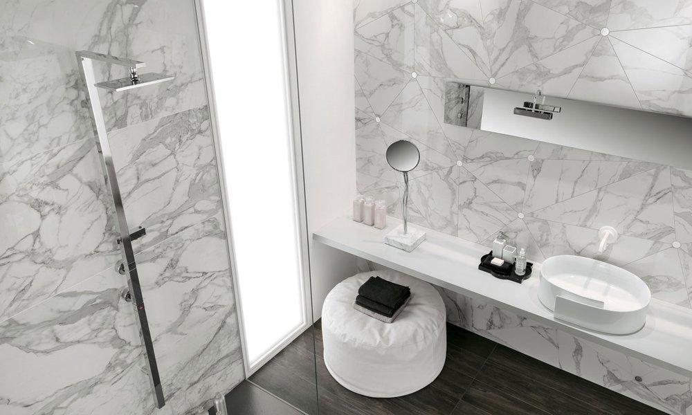Cersaie le tendenze 2018 per i rivestimenti in ceramica lastre marmo Mirage