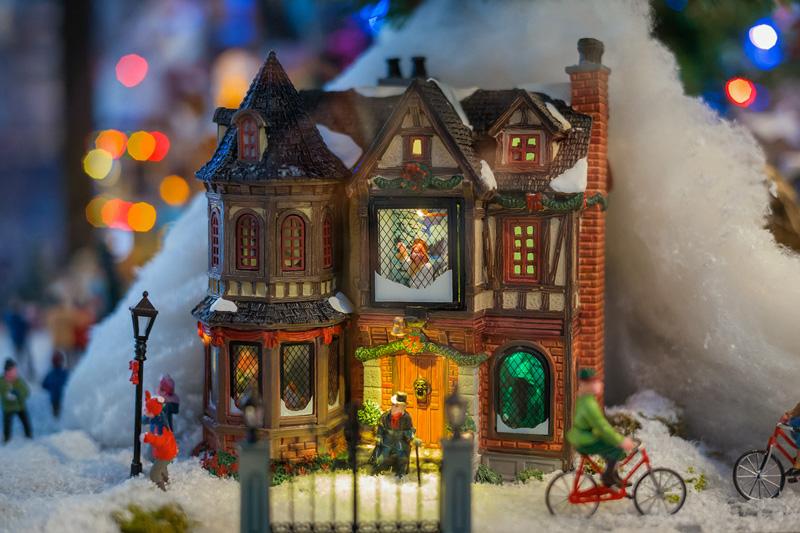 Natale 2017 lo stile tradizionale sempre al top villaggio natalizio