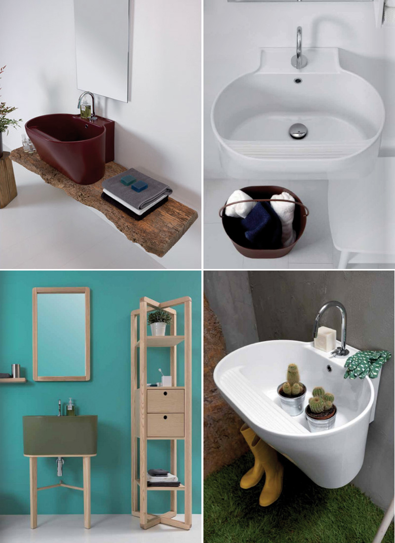Cersaie le tendenze 2018 per sanitari e arredo bagno lavabo lavatoio design