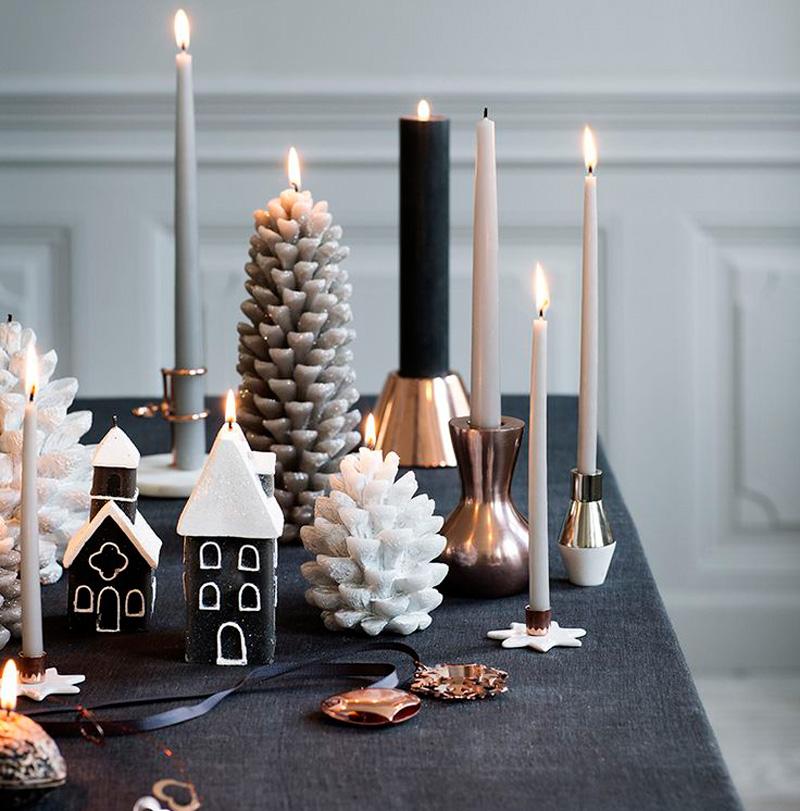 Natale 2017 colori insoliti per una decorazione sorprendente