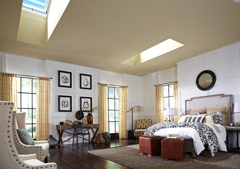 Come portare la luce naturale nelle zone più buie della casa finestre tetto piano