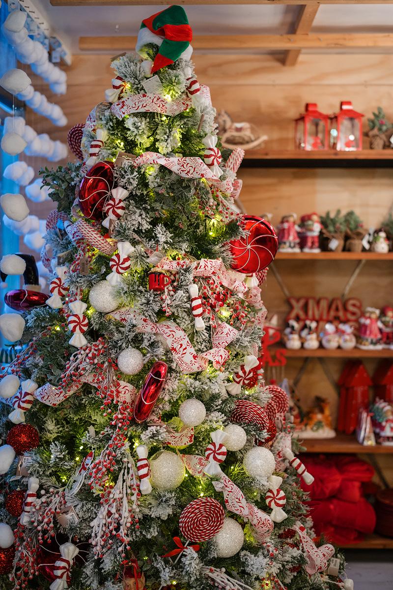 Natale 2017 decorare in stile americano albero