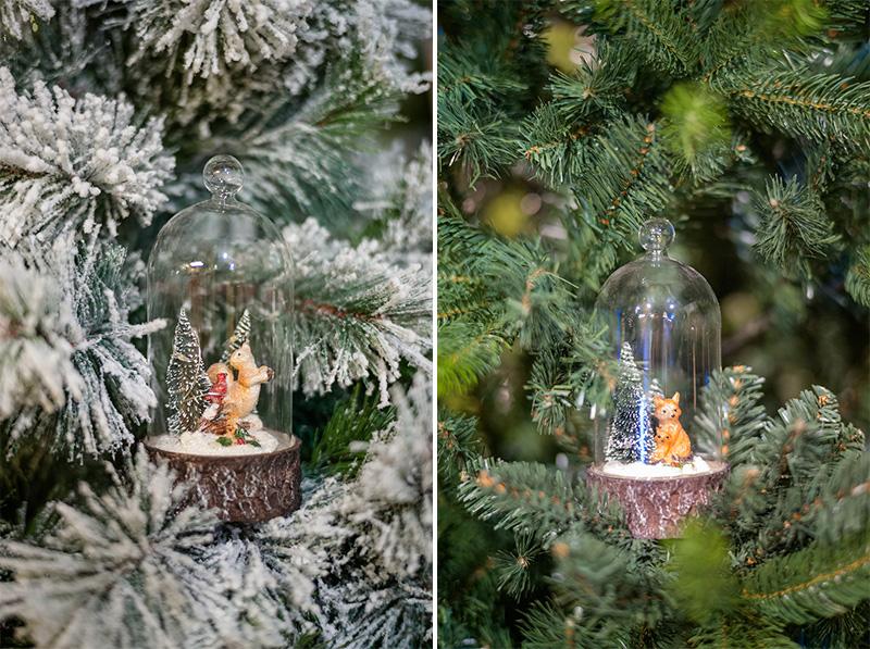 Natale 2017 decorazioni in stile nordico ispirate alla natura animaletti