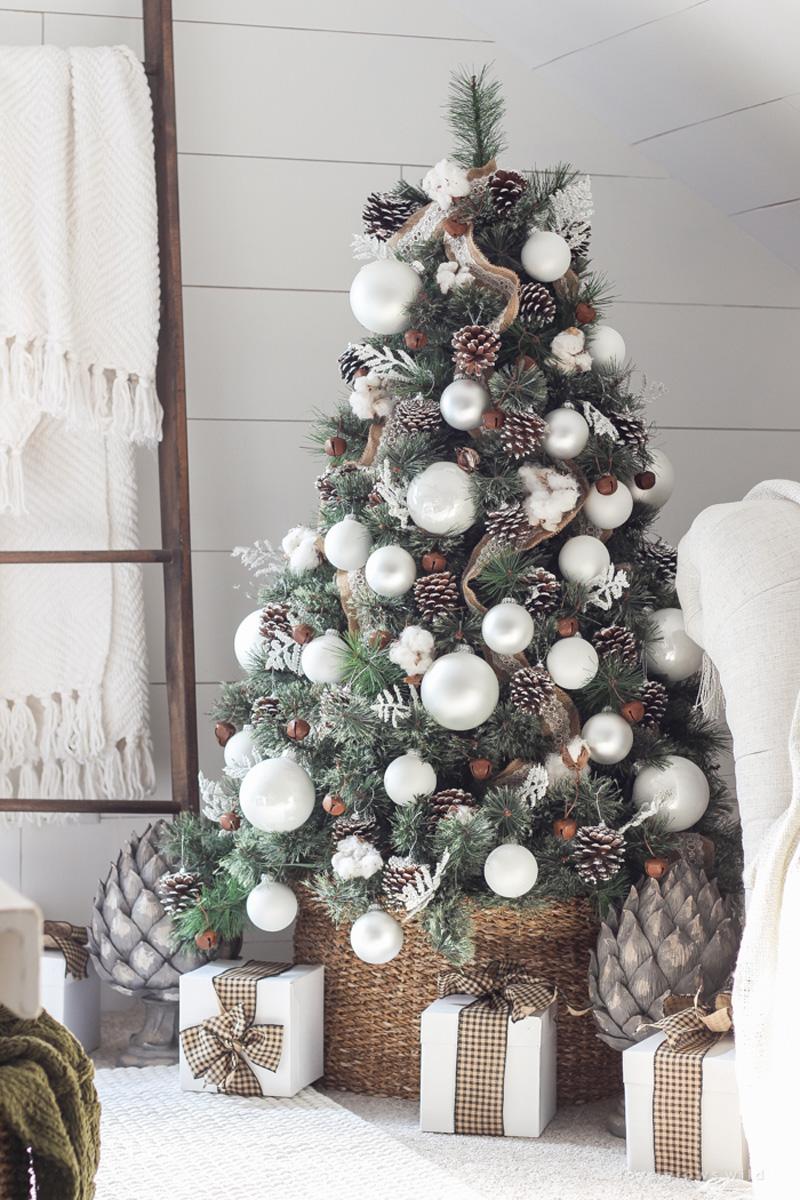 Natale 2017 decorazioni in stile nordico ispirate alla natura