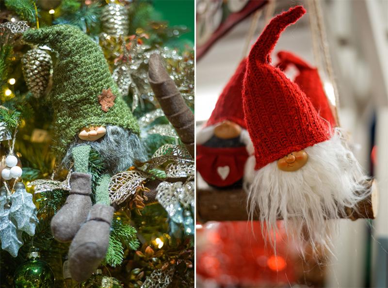 Natale 2017 decorazioni in stile nordico ispirate alla natura folletti
