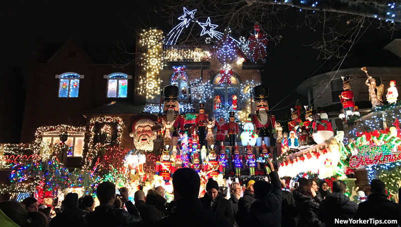 Christmas home Tour la magia di Dyker Heights