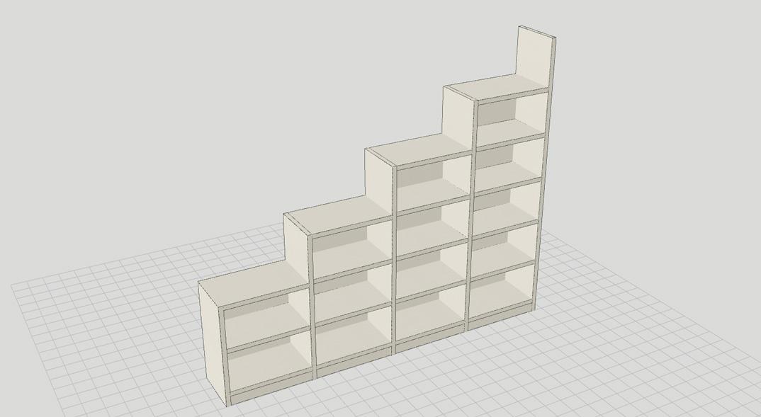 Progetta la tua libreria con un clic la gatta sul tetto - Progetta la tua camera ...
