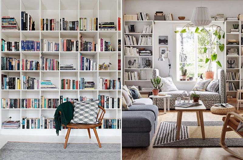Progetta la tua libreria con un clic
