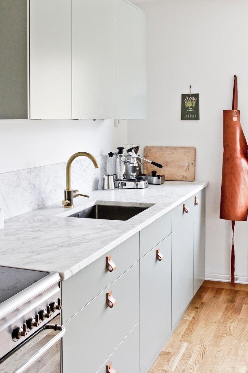 Tendenze arredo 2018 il trionfo del marmo cucina verde