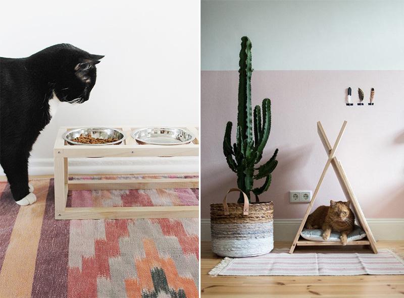 casa a misura di gatto DIY