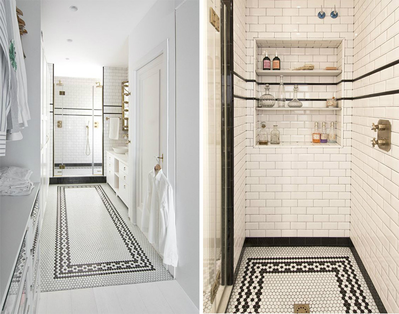 casa a Barcellona tra stile scandi e retro bagno