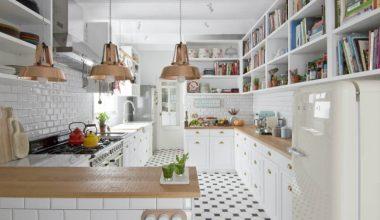 casa-a-Barcellona-stile-scandi-e-retro-cucina