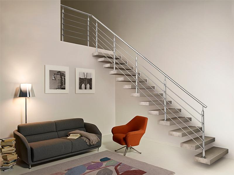 Le scale da interni di tendenza scala a giorno