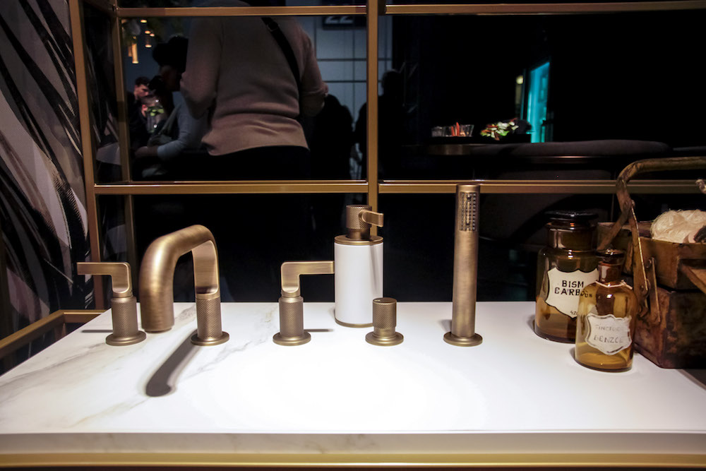 Salone Internazionale del Mobile 2018 Gessi David Rockwell rubinetto Inciso