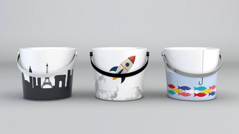 Salone Mobile di Milano qualche anteprima lavabi scarabeo ceramiche collezione bucket