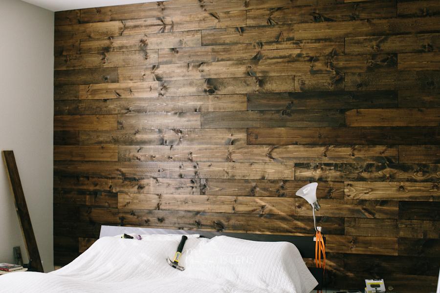 7 Idee per Decorare le Pareti di Casa parete di legno