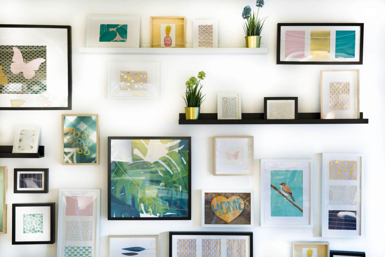 Fai Da Te Decorazioni Casa fai da te: 7 idee per decorare le pareti di casa | la gatta