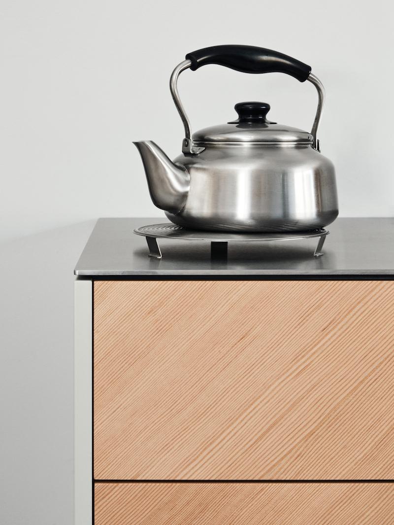 Ikea hack di design la cucina Cecile Manz versione legno