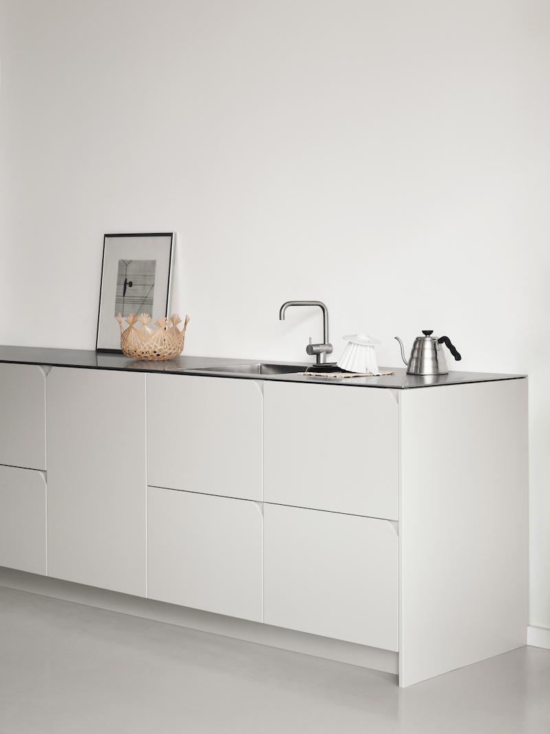 Ikea hack di design la cucina Cecile Manz grigia