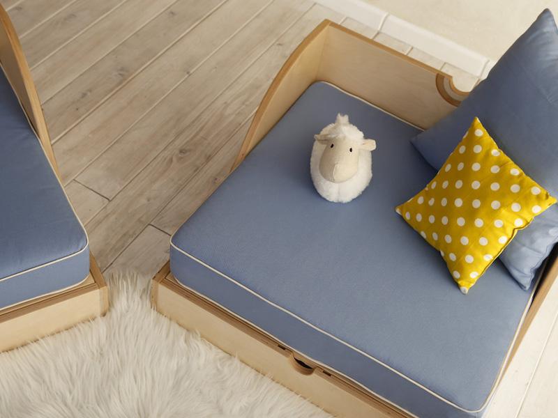 Matata il lettino trasformabile di design cameretta bambini