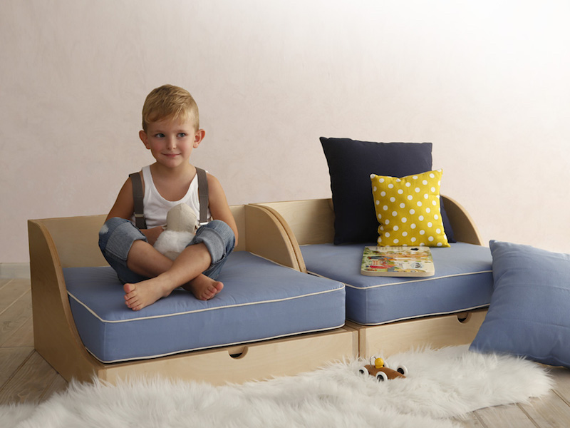 Matata il lettino trasformabile di design montessori