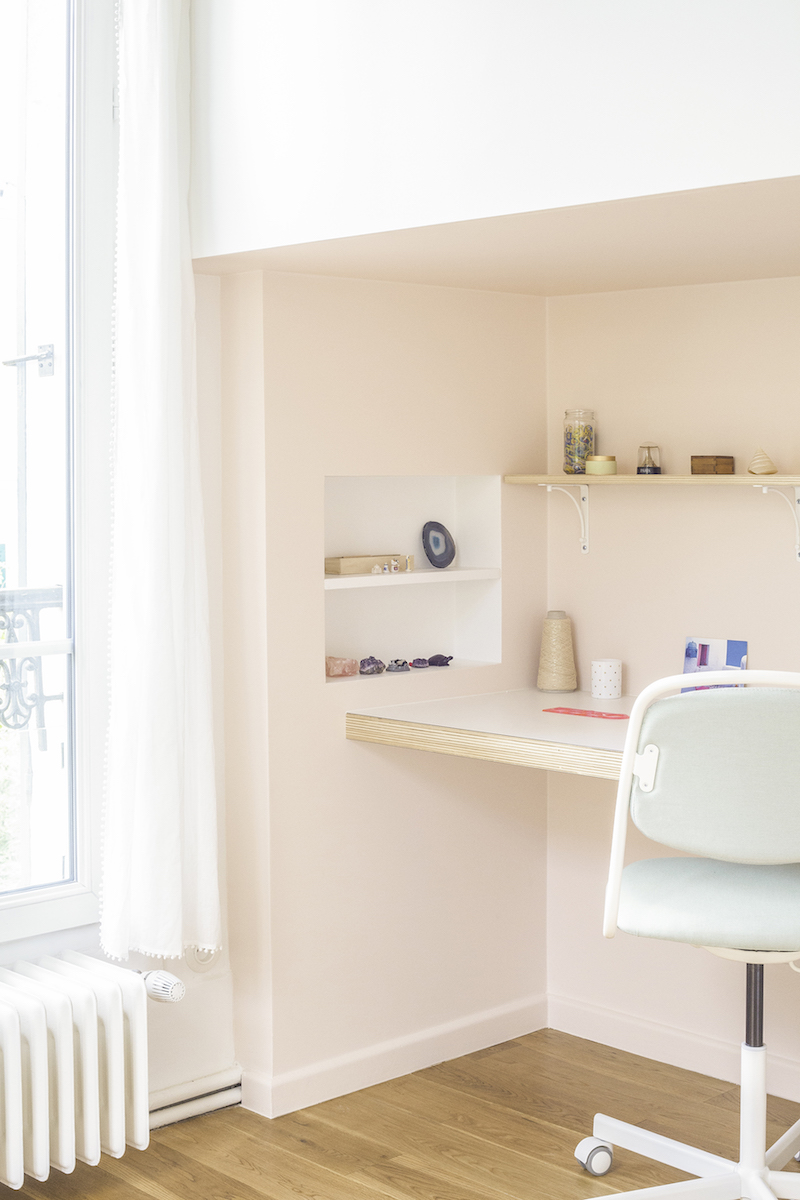 Un appartamento in stile eclettico firmato da Heju cameretta