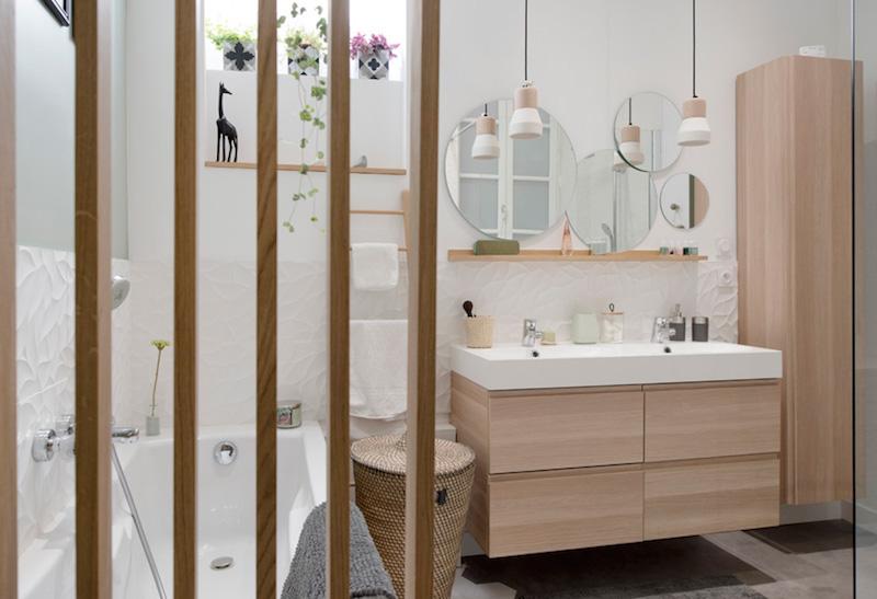 atmosfera rilassante nel tuo bagno mobile da bagno legno