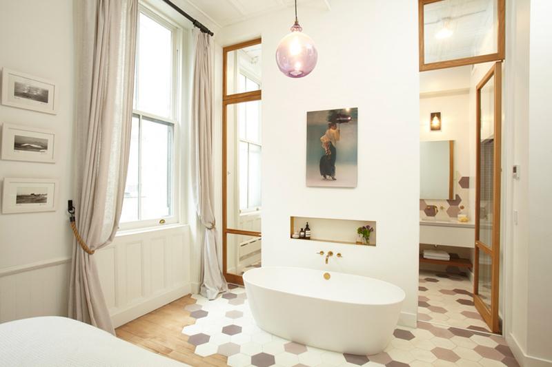 atmosfera rilassante nel tuo bagno vasca da bagno