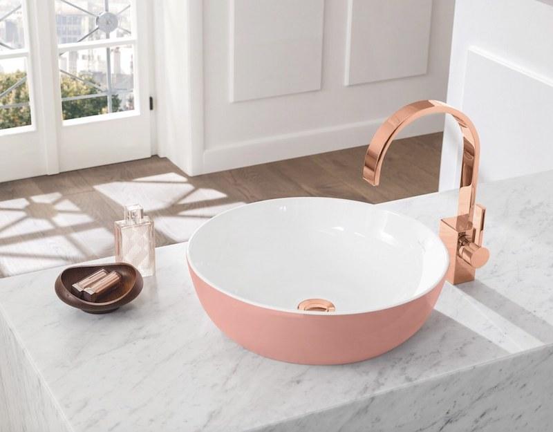 atmosfera rilassante nel tuo bagno rubinetto rame