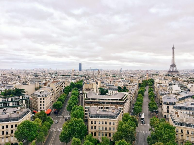 I migliori punti panoramici gratuiti di Parigi gallerie lafayette