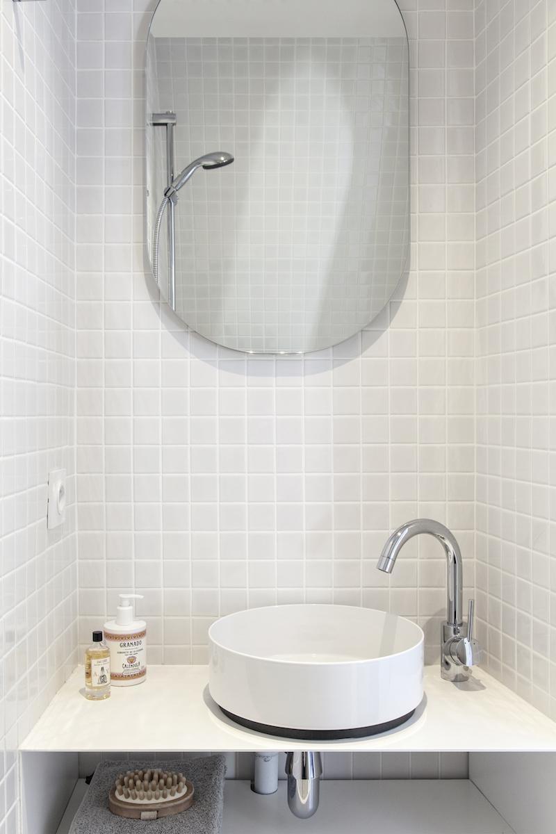 appartamento di 11mq a Parigi bagno