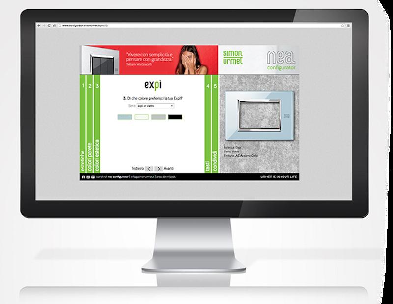 Smart Home: placche e interruttori a sfioramento configuratore