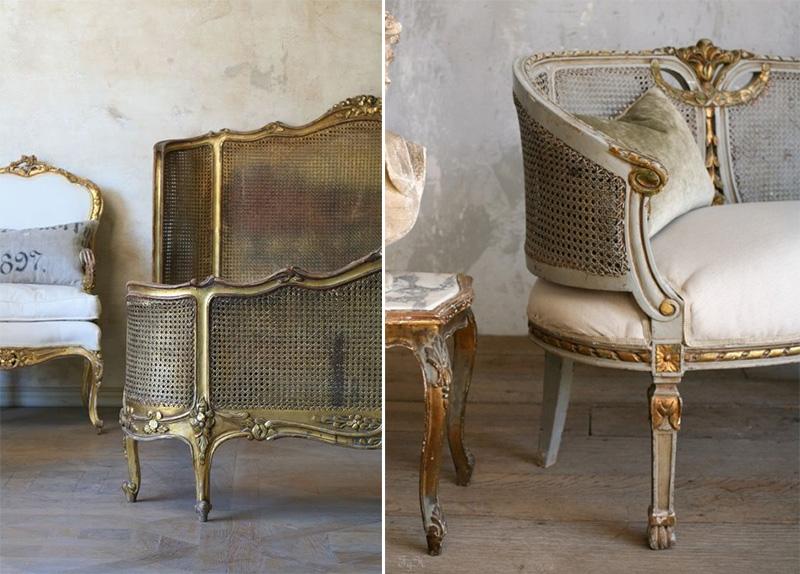 Tendenze: il ritorno della paglia di Vienna mobili Versailles