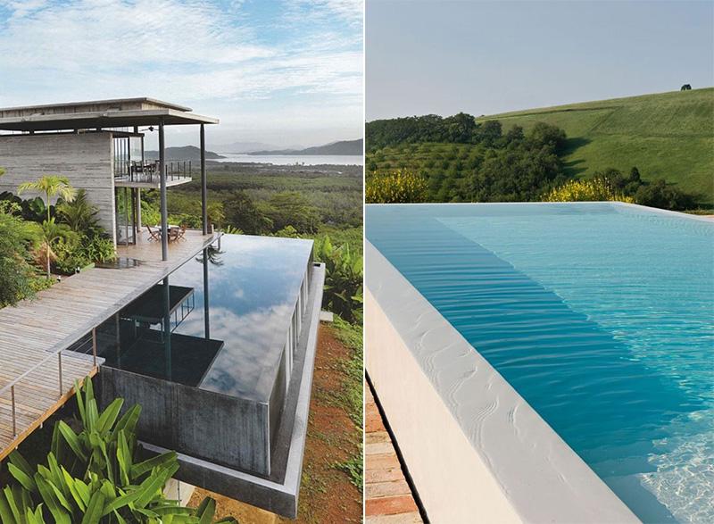 piscine in microcemento dislivelli