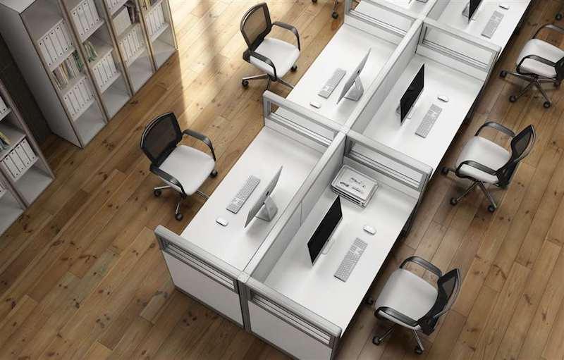 Pareti divisorie ufficio per progetti personalizzati open space