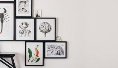 Stampe arte per la casa bianco e nero