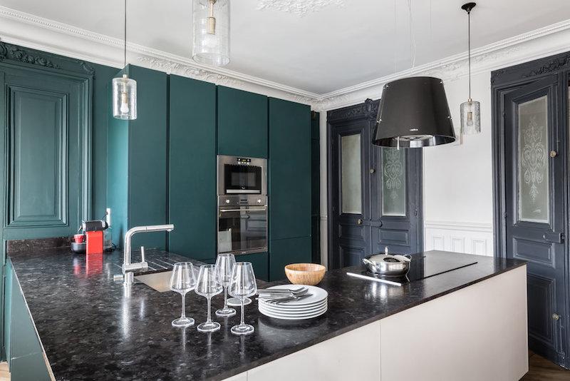 casa parigi firmata interior designer caroline andreoni cucina
